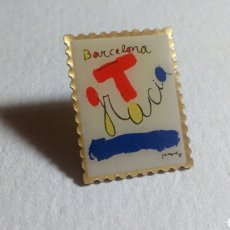Pins de colección: CURIOSO PIN BARCELONA GRACIA. Lote 194542605