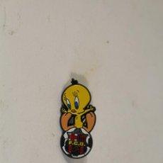 Pins de colección: PIN BARCELONA BARÇA SILVESTRE PIOLIN WARNER BROS. Lote 194545950