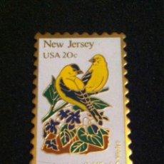Pins de colección: PRECIOSO PIN EN FORMA DE SELLO. Lote 194588755