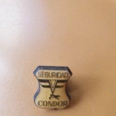 Pins de colección: PIN SEGURIDAD CONDOR. Lote 194594992
