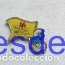 Pins de colección: TUBAL PIN VALONIA BRUSELAS WALLONIE BRUXELLES. Lote 194622881