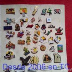Pins de colección: TUBAL LOTAZO 46 PINS VARIADOS ENVIO 2,45 € PENINSULA 2020 . Lote 194623248
