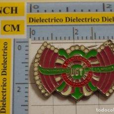Pins de colección: INSIGNIA BROCHE POLÍTICO SINDICAL. I CENTENARIO DE LA UGT 1988. DEPARTAMENTO DE LA MUJER. NO PIN. Lote 194743531
