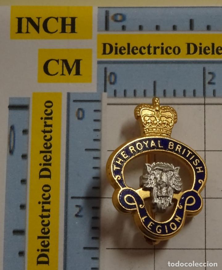 INSIGNIA BROCHE. THE ROYAL BRITISH LEGION. SOLIDARIDAD FUERZAS ARMADAS BRITÁNICAS. NO PIN (Coleccionismo - Pins)