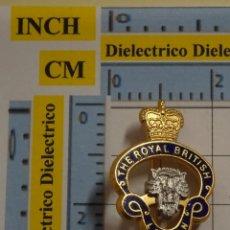 Pins de colección: INSIGNIA BROCHE. THE ROYAL BRITISH LEGION. SOLIDARIDAD FUERZAS ARMADAS BRITÁNICAS. NO PIN. Lote 194743555