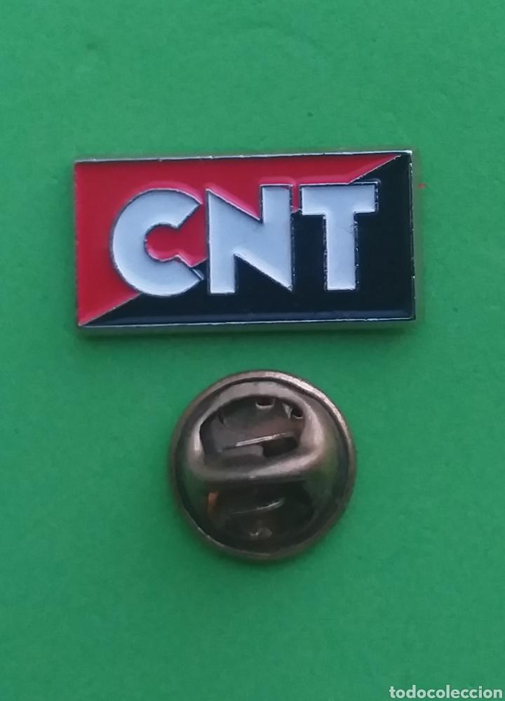 PIN POLITICO - PIN SINDICAL - SINDICATO - CNT (Coleccionismo - Pins)