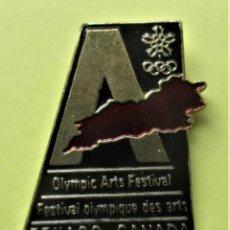 Pins de colección: PIN'S DE LAS OLIMPIADAS DE CANADA . Lote 194901135