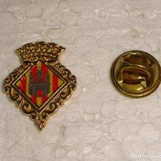 Pins de colección: PIN DE TURISMO HERÁLDICA. ESCUDO HERÁLDICO DE CASTELLÓN DE LA PLANA. Lote 194901491