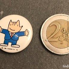 Pins de colección: CHAPA PEQUEÑA COBI MASCOTA BARCELONA 1992. Lote 194964947