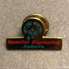Pins de colección: PIN SPECIAL OLYMPICS ANDORRA. Lote 194966176