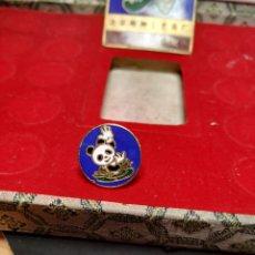 Pins de colección: PIN NATACIÓN SINCRONIZADA BEIJING 1990 XI ASIAN GAMES BAÑADO ORO 24K PINS JUEGOS ASIÁTICOS CHINA. Lote 195029111