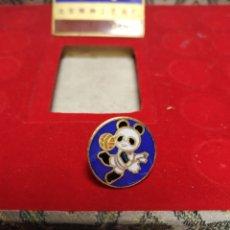 Pins de colección: PIN GIMNASIA ARTÍSTICA BEIJING 1990 XI ASIAN GAMES BAÑADO ORO 24K PINS JUEGOS ASIÁTICOS CHINA. Lote 195029687