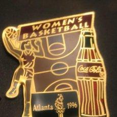 Pins de colección: PIN BALONCESTO FEMENINO COCA COLA JUEGOS OLIMPICOS ATLANTA 1996 USA. Lote 195031013