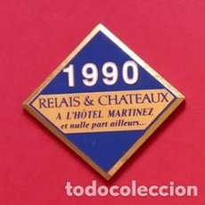 Pins de colección: PIN HOTEL MARTINEZ. Lote 195059277