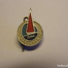 Pins de colección: INSIGNIA CUBANA AÑOS 70, BARLOVENTO.. Lote 195060552