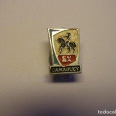 Pins de colección: INSIGNIA CUBANA AÑOS 70, CAMAGUEY.. Lote 195060656