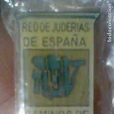Pins de colección: SEFARAD CAMINOS RED DE JUDERIAS DE ESPAÑA PIN PINCHO 2,2 CMS ALTO EN BLISTER. Lote 195155573