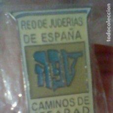 Pins de colección: SEFARAD CAMINOS RED DE JUDERIAS DE ESPAÑA PIN PINCHO 2,2 CMS ALTO EN BLISTER **. Lote 195155580