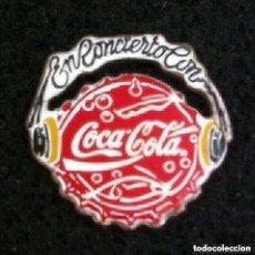 Pins de colección: PIN EN CONCIERTO CON COCA COLA. Lote 195275441