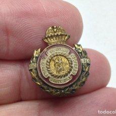 Pins de colección: INSIGNIA - ANTIGUO PIN MONTEPIO SAN CRISTOBAL - BARCELONA - SEGUROS . Lote 195278053