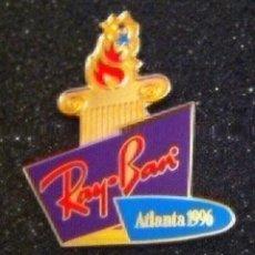 Pins de colección: PIN RAY-BAN OLIMPIADA ATLANTA 1996. Lote 195338098