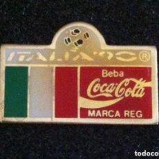 Pins de colección: PIN COCA COLA MUNDIAL FUTBOL ITALIA 90. Lote 195379166