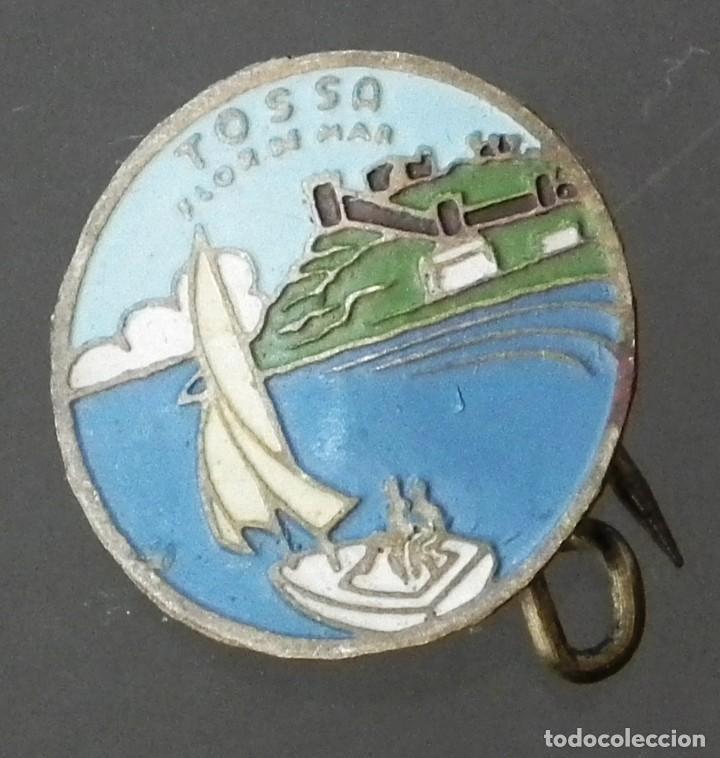 ANTIGUO PIN DE ALFILER DE TOSSA FLOR DE MAR (Coleccionismo - Pins)