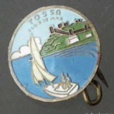 Pins de colección: ANTIGUO PIN DE ALFILER DE TOSSA FLOR DE MAR. Lote 195388683