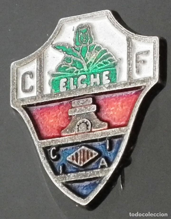 ANTIGUO PIN DE ALFILER CLUB DE FÚTBOL - CF ELCHE DEL AÑO 1974 (Coleccionismo - Pins)