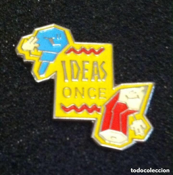 PIN IDEAS ONCE (Coleccionismo - Pins)