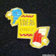 Pins de colección: PIN IDEAS ONCE. Lote 195389882