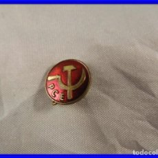 Pins de colección: PIN O INSIGNIA CON ESMALTE DEL PCE PARTIDO COMUNISTA DE ESPAÑA. Lote 195432457