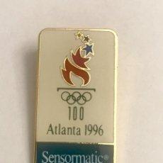 Pins de colección: PIN SENSORMATIC JUEGOS OLIMPICOS ATLANTA 1996. Lote 195502992