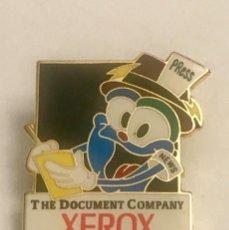 Pins de colección: PIN XEROX MASCOTA PRENSA JUEGOS OLIMPICOS ATLANTA 1996. Lote 195503051