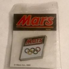 Pins de colección: PIN MARS JUEGOS OLIMPICOS 1992 - NUEVO EN BOLSA. Lote 195503116