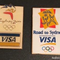 Pins de colección: PINS VISA JUEGOS OLIMPICOS SYDNEY 2000. Lote 195508542
