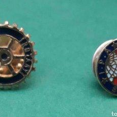 Pins de colección: PIN ROTARY INTERNACIONAL Y SERVO PER AMIKECO IPA. Lote 195517495