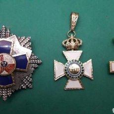 Pins de colección: CRUZ AL MÉRITO UNA DE ELLAS DE FERNANDO VII.. Lote 195517527