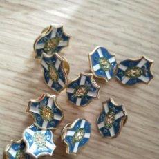 Pins de colección: LOTE 10 PINS CLUB DEPORTIVO TENERIFE. Lote 195554521