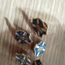 Pins de colección: LOTE 5 PINS CLUB DEPORTIVO TENERIFE. Lote 195554747