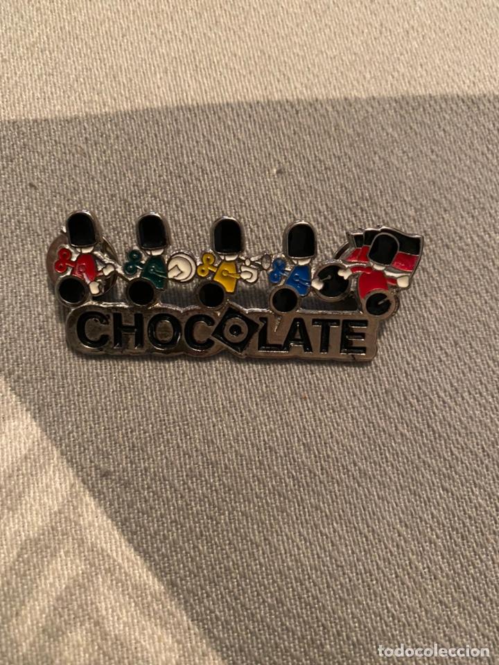 PIN DISCOTECA CHOCOLATE (Coleccionismo - Pins)