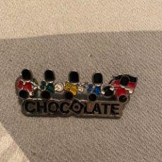 Pins de colección: PIN DISCOTECA CHOCOLATE. Lote 198035242