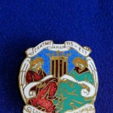 Pins de colección: INSIGNIA CORAL POLIFONICA VALENTINA- ANTIGUA DE OJAL . Lote 198602975