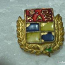 Pins de colección: ANTIGUO PIN S.D. KAS. CICLISMO. Lote 199485032