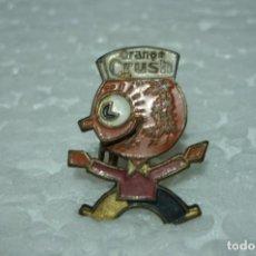 Pins de colección: ORANGE CRUSH. ANTIGUO PIN DE ALFILER. ESMALTADO. AÑOS 70. Lote 199486850