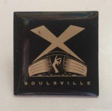 Pins de colección: PIN SOULSVILLE STAX DE CALIDAD MUY CHULO NUEVO. Lote 199739173
