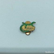 Pins de colección: INSIGNIA METAL JABÓN LAGARTO. Lote 199807518