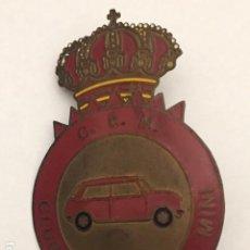 Pins de colección: INSIGNIA CLUB ESPAÑOL DEL MINI. Lote 199969848