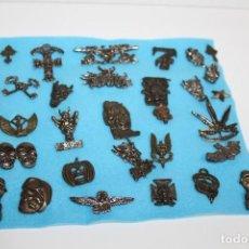 Pins de colección: LOTE DE 29 PINS - PIN GRUPOS MUSICAL HEAVY - ROCK - CALAVERAS - MOTEROS. Lote 200315208