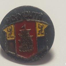 Pins de colección: PIN COCHES PLYMOUTH. ANTIGUO ESMALTADO. UNICO EN T.C. DOS PESTAÑAS METÁLICAS PARA COSER A LA TELA. Lote 201158476